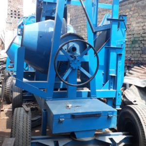 Concrete Mixer Machine With Lift With Motor